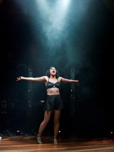 Amanda Billing as Sally Bowles in Cabaret