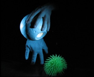 Alvin Sputnik Puppet