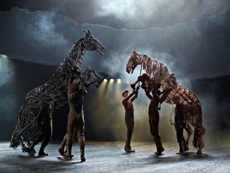 War Horse UK Production Image Topthorn and Joey