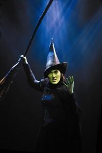 Jemma Rix as Elphaba