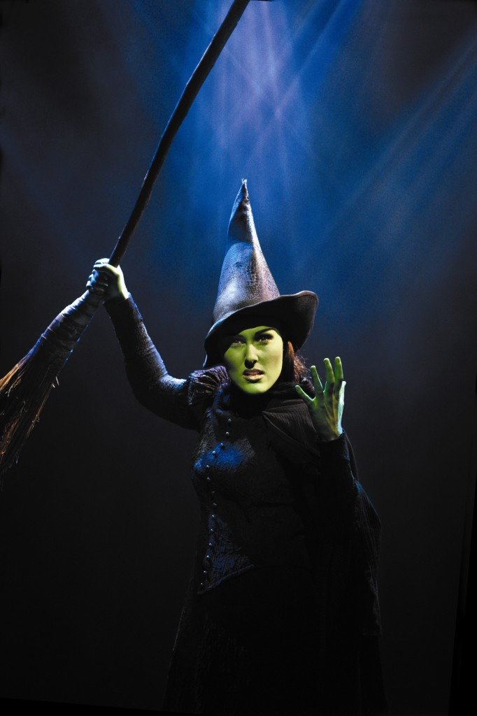 Jemma Rix as Elphaba