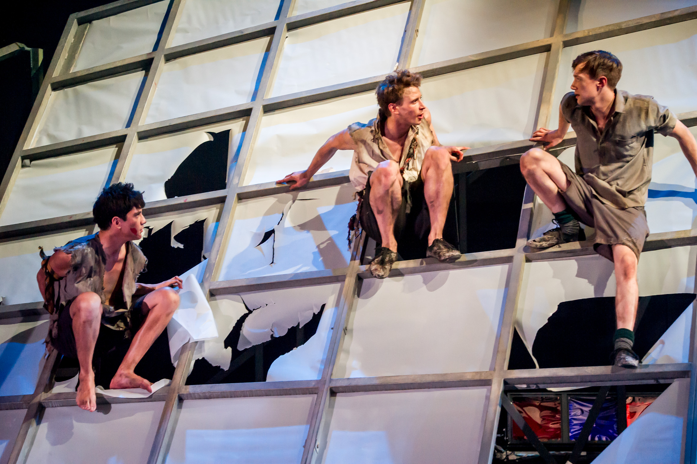 review lord of the flies auckland theatre company theatre lord of the flies
