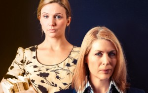 (L-R)  Beth Allen and Jennifer Ward-Leyland give stunning performances.