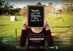 Verbatim: Two Plays