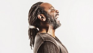 Reginald D Hunter has the audience eating out of the palm of his hand.