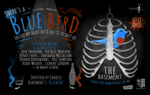 Inspired by Charles Bukowski's poem 'Bluebird'