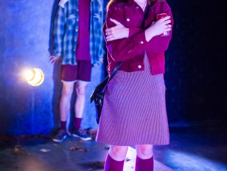 DNA by Dennis Kelly, directed Benjamin Henson, an Auckland Theatre Company 'Next Big Thing' production; photography -  Michael Smith