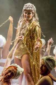 "Madeline Sami in ""Jebus"" Christ Superstar. Impossible to forget."