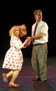 Steve Blount and Janet Moran in Swing