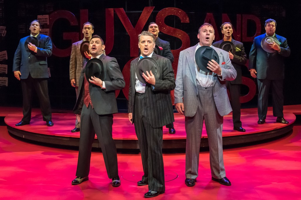 Guys and Dolls, dir: Raymond Hawthorne, an Auckland Theatre Company production at Q Theatre.  Production photos: Michael Smith