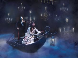 He's there, The Phantom of the Opera.