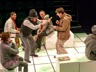 The Curious Incident of the Dog in the Night-Time, an ATC Production; written Mark Haddon, adpt Simon Stephens; dir. Sarah Brodie.  Production Photographs Michael Smith