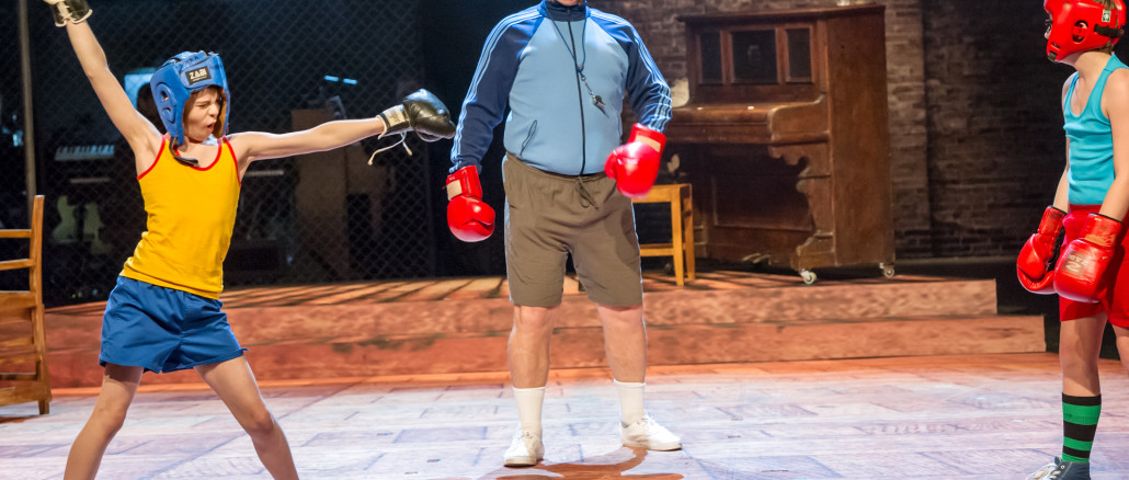 Auckland Theatre Company Production of Billy Elliot. Director Colin McColl. Production photographs Michael Smith