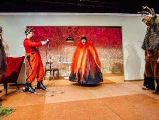 Silo Theatre's PERPLEX - Kura Forrester, Nic Sampson, Natalie Medlock & Sam Snedden - Andi Crown Photography