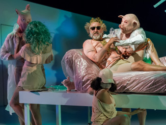 Peer Gynt, by Eli Kent; dir Colin McColl; Auckland Theatre Company production; photographs Michael Smith