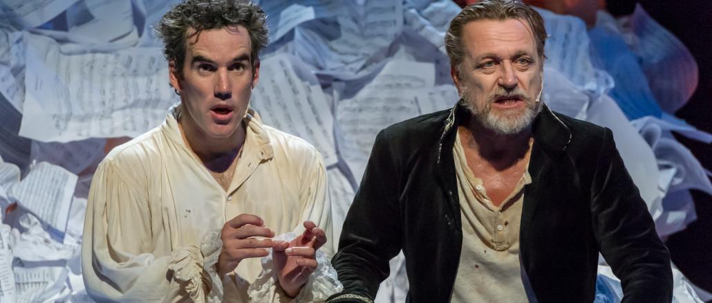 Amadeus - Peter Shaffer;  dir Oliver Driver; Auckland Theatre Company production; photographs Michael Smith