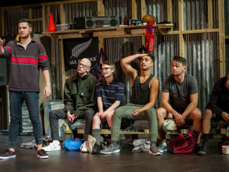 Here and Now Festival, Boys; adapted from Foreskin's Lament by Eleanor Bishop;  Auckland Theatre Company production; photographs Michael Smith